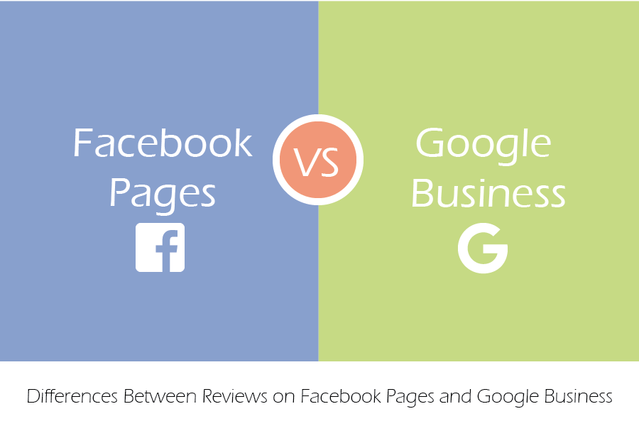 Differences Between Reviews on Facebook Pages and Google Business